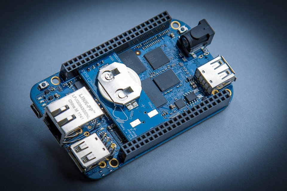 SanCloud BeagleBone Enhanced (BBE) WiFi - 1G (External Antenna) + RTC