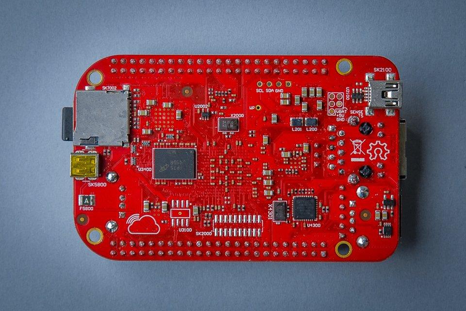 SanCloud BeagleBone Enhanced (BBE) Industrial