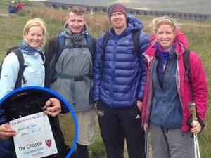 3 Peak Challenge - Christie Charity