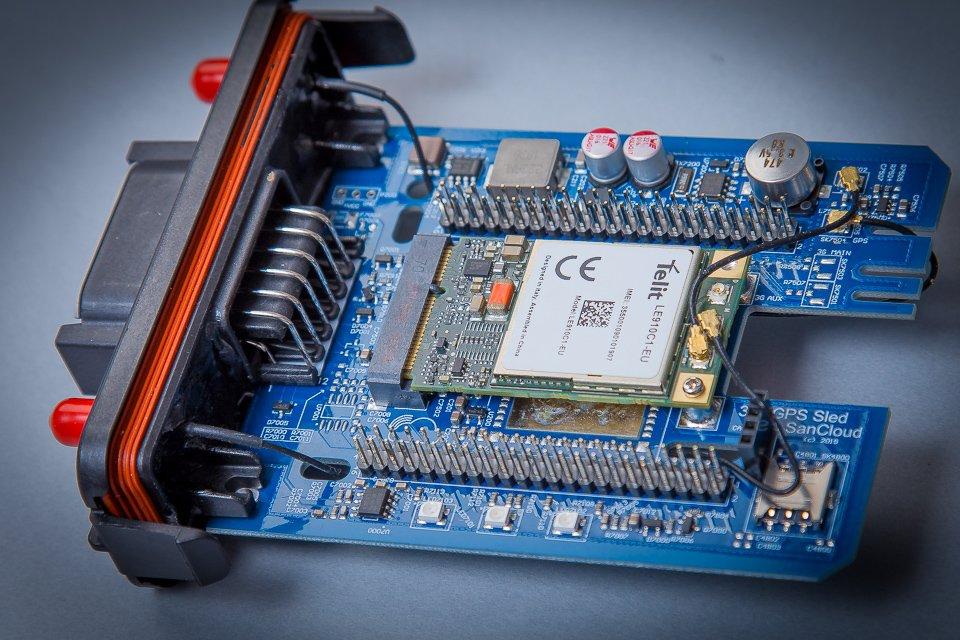 GNSS/GPS 3G 4G CAN-Bus Cape & BeagleBone® Enhanced (BBE) Industrial